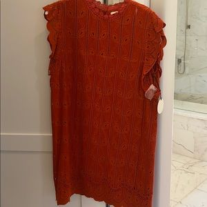 Tularosa red dress